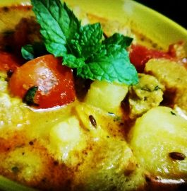 Potato Soya Chunks Recipe