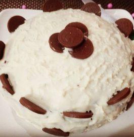 Chocolate Snow Mountain Cake Recipe