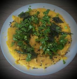 Khaman (Besan) Dhoklas - Gujarat Special Recipe