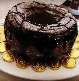 Eggless Chocolate Ring Cake Recipe