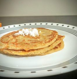 Wheat Banana Coconut Pancake Recipe