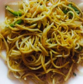 Indo-Chinese Vegetable Chowmein Recipe
