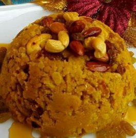 Besan (Gram Flour) Dry Nuts Cake ( Without Oven) Recipe