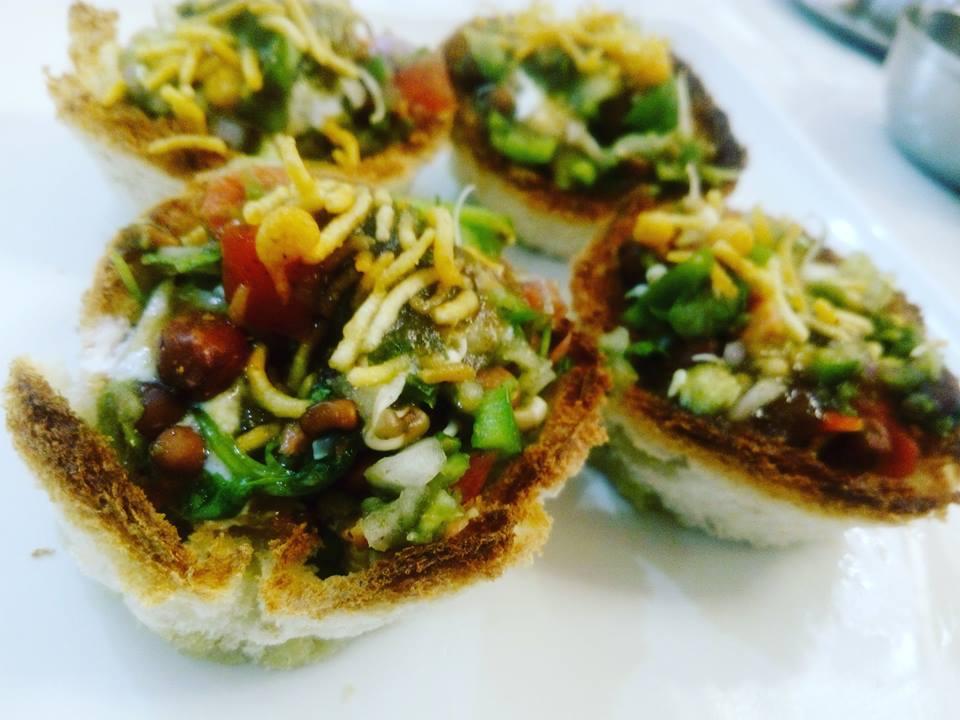 Vegetable Bread Katori Recipe