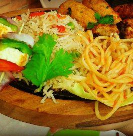 Veg Manchurian Sizzler Recipe