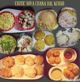 SOYA CHANA DAL KEBAB Recipe