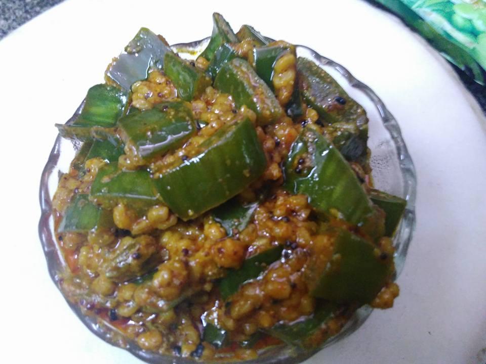 Aloevera Achaar Recipe
