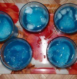 BLUE LAGOON MOCKTAIL Recipe