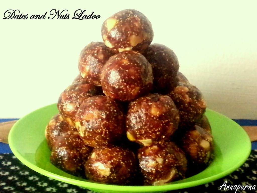 Dates and Nuts Ladoo Recipe