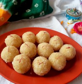 Peanut Coconut Ladoo Recipe