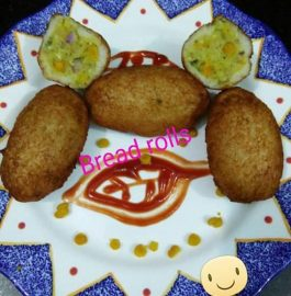 Crispy Bread Rolls Recipe