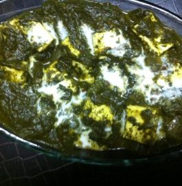 Cholai ka Saag with Paneer Recipe