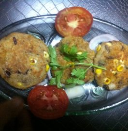 Corn Bites or Tikiya Recipe