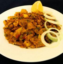 Leftover Roti (Chapati) Poha Recipe