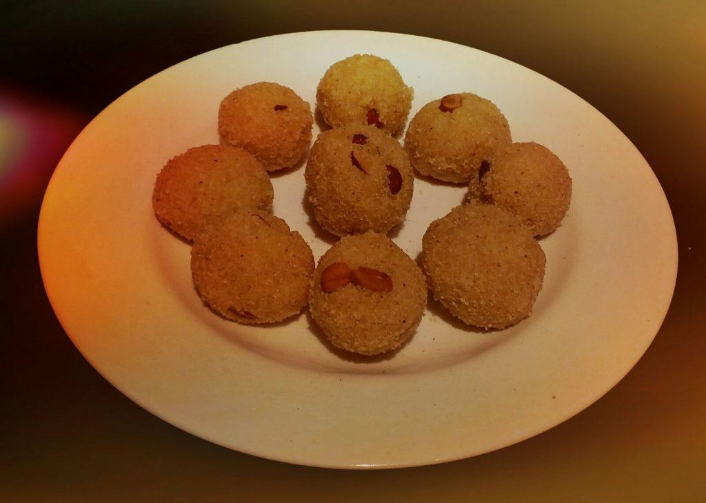 Rava Coconut Laddoo Recipe