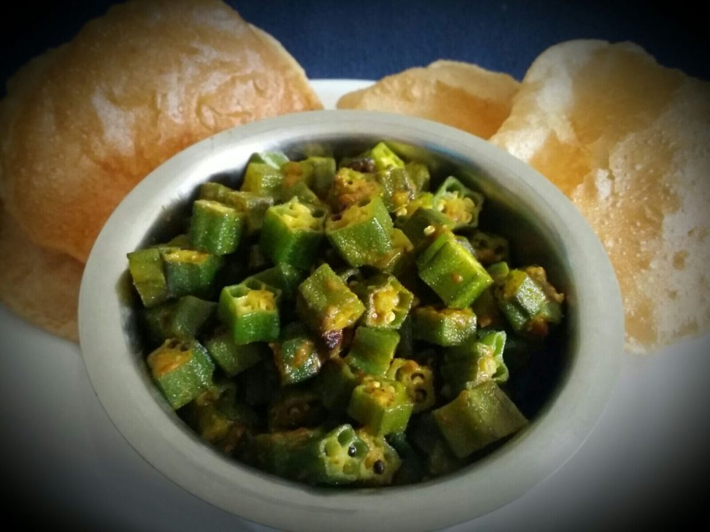 Lehsuni Bhindi Masala Recipe