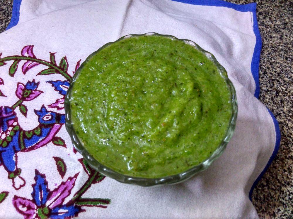 Apple Mix Green Chutney Recipe