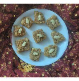 Soya Granules Barfi Recipe
