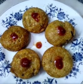 Oats Sooji Paniyaram Recipe