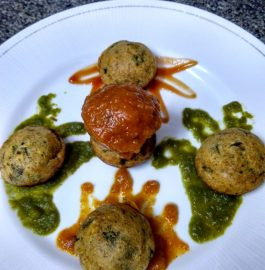 Oats Spinach Appam Recipe