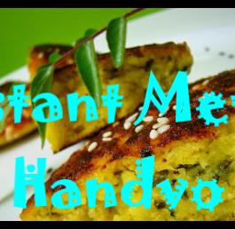 Methi Handvo Recipe