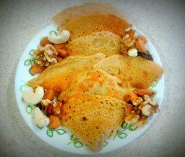 Sweet Wheat Flour Pancakes Recipe