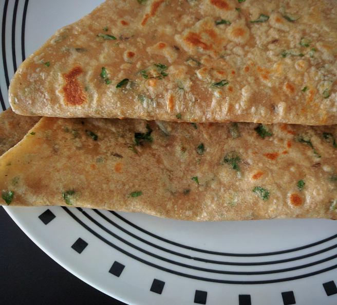 Coriander Chapati Recipe