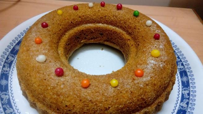 Eggless Wheat Carrot Cake Recipe