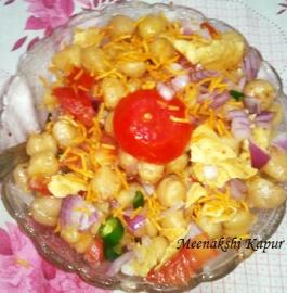 Chatpati Chole Chaat Recipe