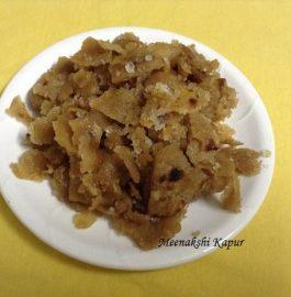 Punjabi Traditional Dessert Churi Recipe
