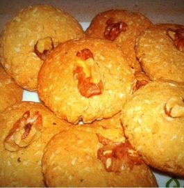 Wheat Coconut Cookies Recipe