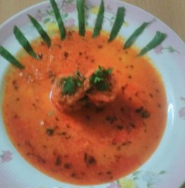 Soya Paneer stuffed in Gravy Recipe