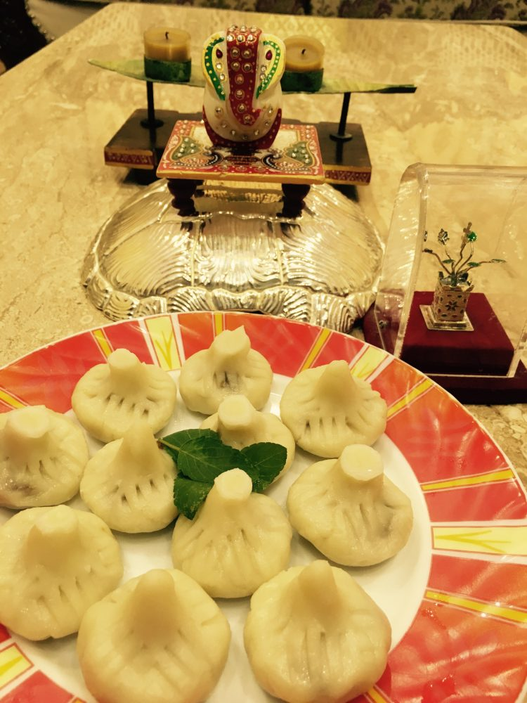 Modak ( Sweet Momos) Recipe