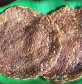 Masoor dal Cucumber Pancake Recipe