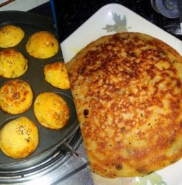 Mix Vegetable Pan Cake with Appams Recipe