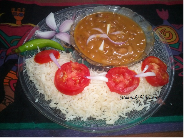 Malai Rajma Masala -Zeera Pulao Recipe
