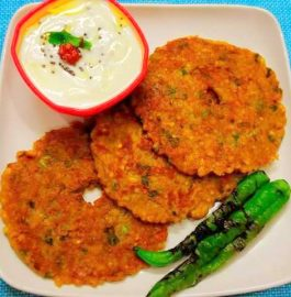 Sabudana Thali Peeth Recipe