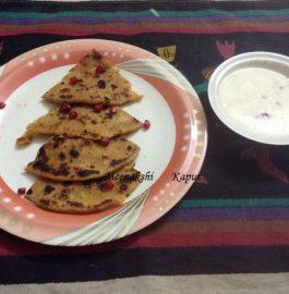 Soya Paranthas Recipe