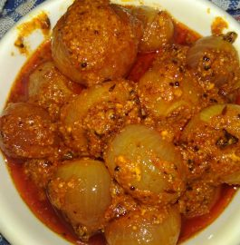 Saboot Masala Onion/Pyaaz Sabzi Recipe