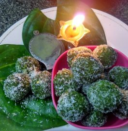 Paan Coconut Ladoo stuffed with Gulkand Recipe