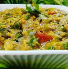 Vegetable Oats Khichdi - Yummy Breakfast
