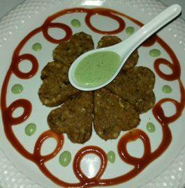 Crisp Sabudana Aaloo Tikki Recipe