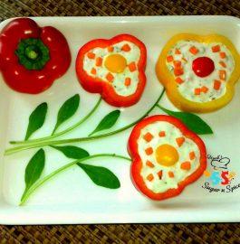 Stuffed Shimla Mirch with Hung Curd Recipe