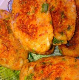 Arbi (Colocasia) Cutlet Recipe