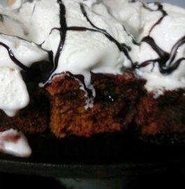 Dates Brownie Sizzle Recipe