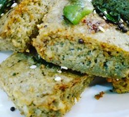 Green Lentil (Daal) ke Dhokle - Tasty Snack