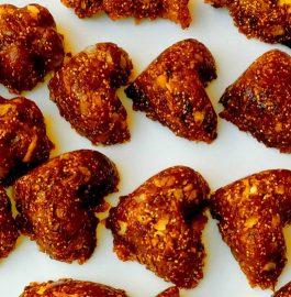 Gud Coconut Chikki Recipe