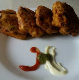 Bread Pakoras ( Without stuffing ) Recipe