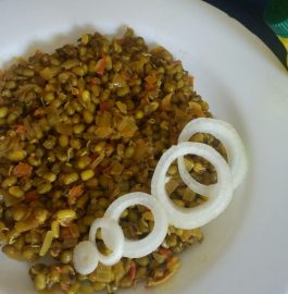 Sprouted Moong Dal Chat Recipe