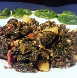 Aloo Palak -Iron Rich Sabzi Recipe